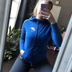 🦋3/50$ Nike blue athletic hoodie